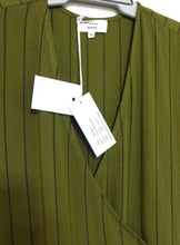 Load image into Gallery viewer, August Street No vacancy dress, khaki striped, sz. 8/XS, ***NWT RP$159.95