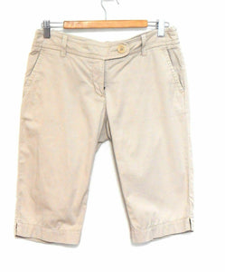 Country Road, beige shorts, knee length, sz. 10, sporty style, very good cnd.