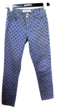 Load image into Gallery viewer, Country Road skinny pants, dark grey polkadot, sz. 8 NWOT