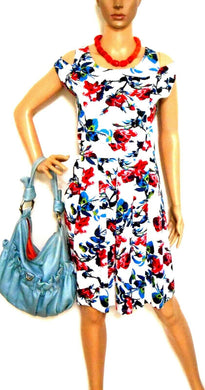 Tequila Sunrise floral pleat dress, sz. 16, ***NWT
