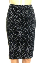 Load image into Gallery viewer, Portmans Status, pencil skirt, black/white dotted, sz. 10 NWOT - for all seasons