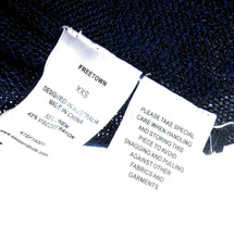 Load image into Gallery viewer, Sass & Bide linen tank top, Freetown, dark blue, sz. 8-10/XXS, exc. cnd.