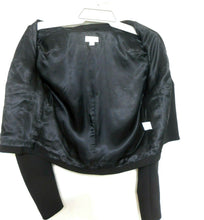 Load image into Gallery viewer, Witchery black crop jacket, sz. 10, NWOT - super chic style