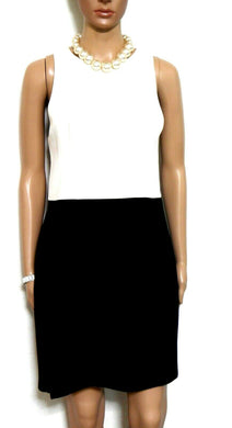Ministry of style dress, black & white, cut out shoulders, sz. 14, exc. cnd.