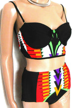 Load image into Gallery viewer, River Island 2 pc. bathers, retro style, superb look & fit, sz. 8/10UK, ***NWT