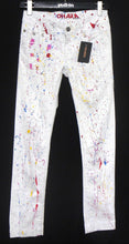 Load image into Gallery viewer, O'Hara white jeans, skinny legs, sz. 12  ***NWT