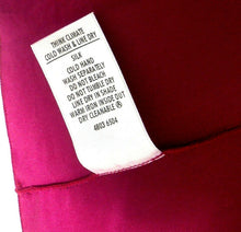 Load image into Gallery viewer, Stella McCartney (for Target) magenta purple silk tunic dress, sz. 12, near new