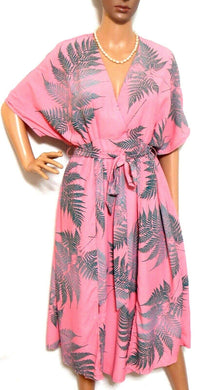 Glamorous Bloom gorgeous flowing fern dress, coral pink, sz. 12-14 **NWT