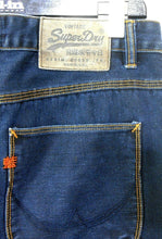 Load image into Gallery viewer, Superdry , Foundry slim Carpenter jeans, dark blue, sz. 33, near new