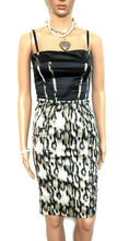 Load image into Gallery viewer, Roberto Cavalli dress, very glam, python pattern, sz. 6/38, Made in Italy, near new