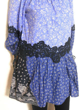 Load image into Gallery viewer, Seed Heritage blue tunic top, peasant style, sz. 10-12, exc. cnd.