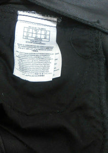 Guess black shorts, coated cotton bl., sz. 8/27, NWOT
