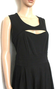 City Chic black dress, little bit saucy, sz. 16/S, NWOT - for all seasons