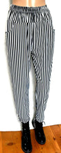 Load image into Gallery viewer, Marcs funky striped pants with pockets, pull on style, sz. 12/M, on trend, exc. cnd.