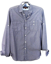 Load image into Gallery viewer, Ben Sherman -  casual shirt, dark blue stripe, near new, sz. S
