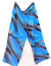 "Load image into Gallery viewer, Peter Alexander leisure/sleep pants, sz. XL, blue/black, NWOT ""Run for Cover"""