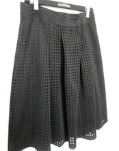 Load image into Gallery viewer, Maggie T black pleated skirt, day and after hours, sz. 16 as new - very chic