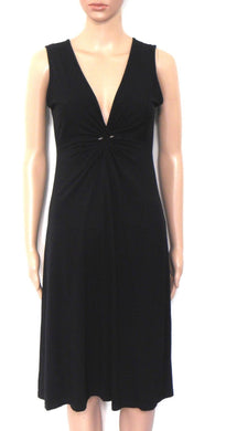 Tim O'Connor black knot dress, sz.10, exc. cnd