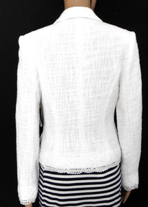 Lovers  white dress jacket, sz. 8-10, ***NWT