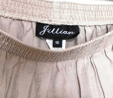 Load image into Gallery viewer, Jillian  by Ross Christie, beige pants, wide leg, sz. 16, ***NWT