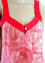 Load image into Gallery viewer, Ginger & Smart  sun dress, soft red/white, sz. 10, with pockets, exc. cnd.