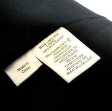 Load image into Gallery viewer, Saba silk dress, very chic style, sz. 10 charcoal geometric, near new