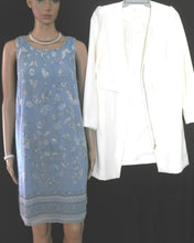Load image into Gallery viewer, Max Studio blue tunic dress, loose and flowing, sz. 12/M, near new