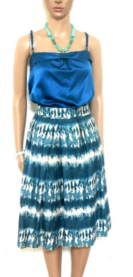 Veronika Maine pleat skirt sz. 14- 16 + FREE Stella McCartney silk bl. top, exc. cnd.