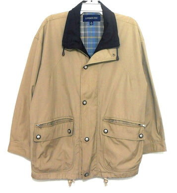 London Fog windbreaker khaki jacket, sz. XXL/97, for all seasons, exc. cnd.