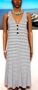 Witchery striped midi dress, sz. 8/XXS, NWOT