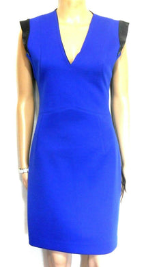 Oxford dress, royal blue - smart casual style, sz. 8 - for all seasons, near new