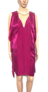 Stella McCartney (for Target) magenta purple silk tunic dress, sz. 12, near new