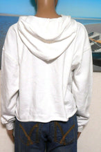 Load image into Gallery viewer, Hard Rock white hoodie top, sz. 12/M **NWT