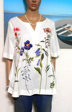 Load image into Gallery viewer, Trent Nathan fresh & pretty floral tunic, sz. 10, **NWT, RP$79.95,