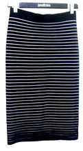 Load image into Gallery viewer, Forever New midi pencil skirt, black stretch, sz. 12/M, for all seasons, exc. cnd.