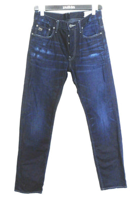 G Star Raw jeans, G 33/01 - indigo denim, acid wash, sz. 32, near new
