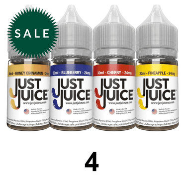 30ml / 24mg - 4 Bottles Mix Flavors - Subscription