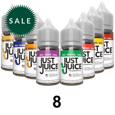 30ml / 12mg - 8 Bottles Mix Flavors - Subscription