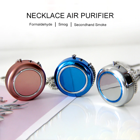 Ionizer Air Purifier Necklace