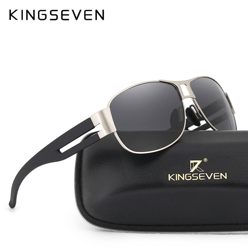 BEST Photoshoot Men Outdoor Luxury Alloy Polarized Sunglasses