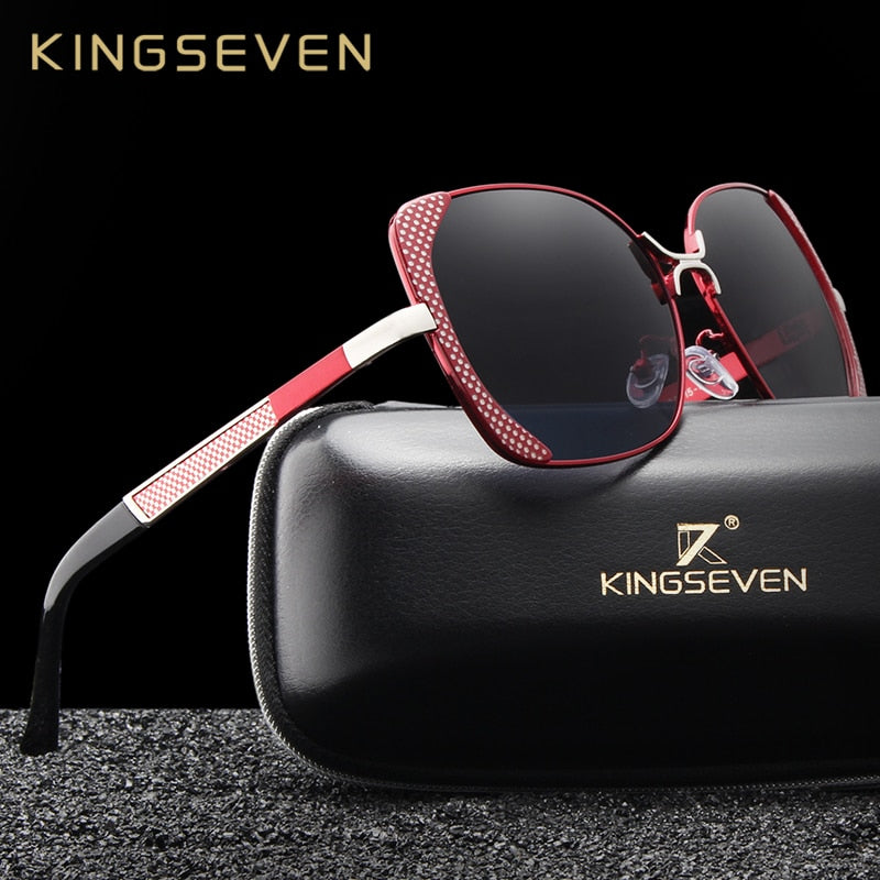 KINGSEVEN 2019 Vintage Butterfly Ladies BEST PHOTOSHOOT Polarized Sunglasses