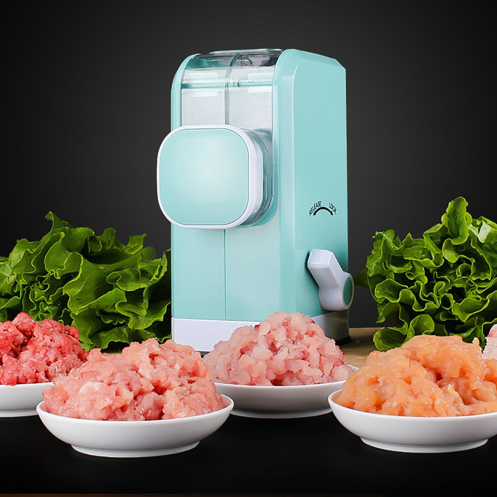 Multifunction Manual Meat & Vegetables Chopper Mincing Machine