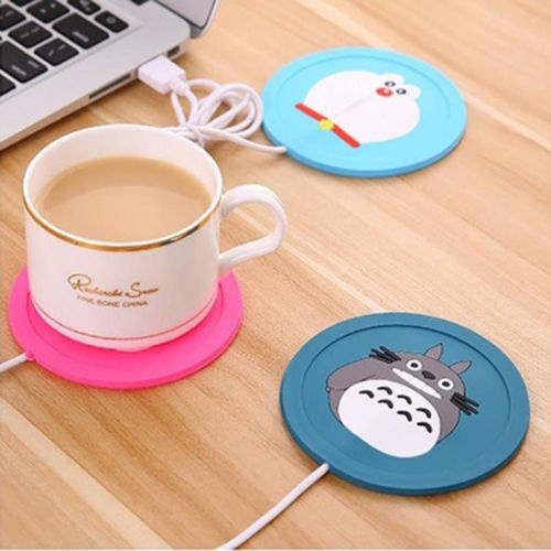 USB Power Suply Coffee & Tea Mug Warmer Heating Mat