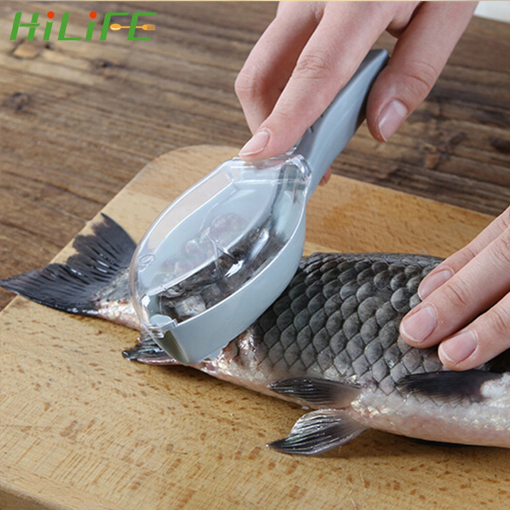 Scraping Fish Scales Fish Cleaning Tool