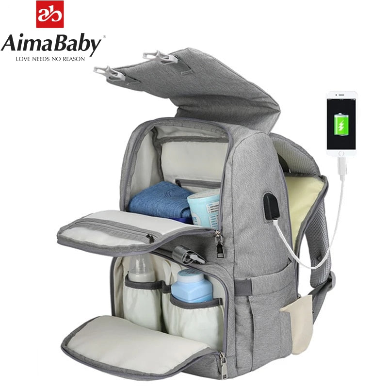 2019 Top Seller - All in One Mommy Travel Backpack