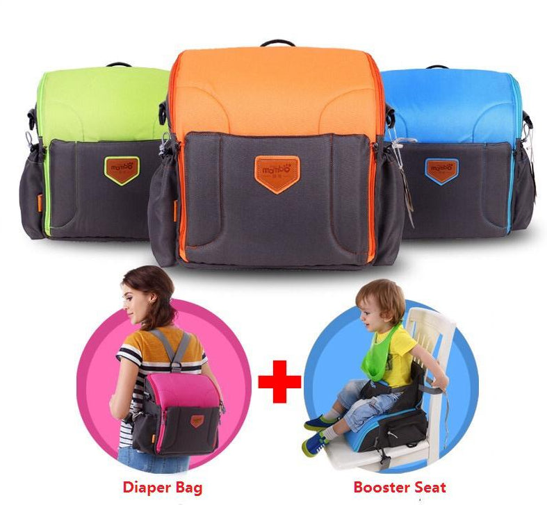 2 IN 1 Portable Baby Booster Seats Backpack