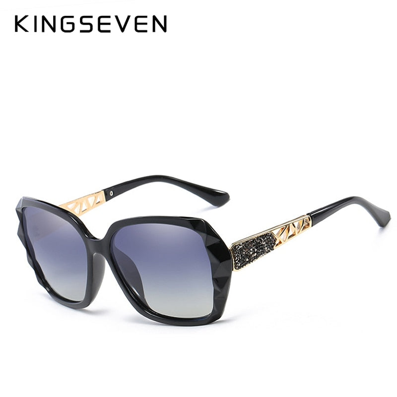 KINGSEVEN 2019 New Design Fashion Butterfly Women Sunglasses
