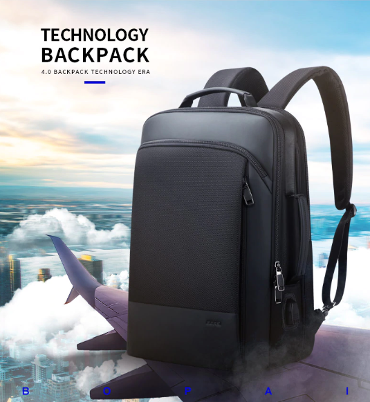 2019 Best Selling Summer Anti-Theft Expandable Travel Laptop Backpack