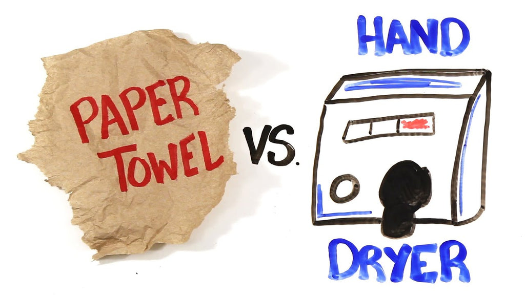 Old Enemies - Hand Dryers vs Paper Towels - Which is Greener