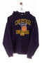 Norwalk Basketball Logo Print Hoodie Navy